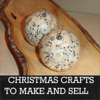 Christmas Crafts To Make And Sell  Rustic Crafts  Chic Decor