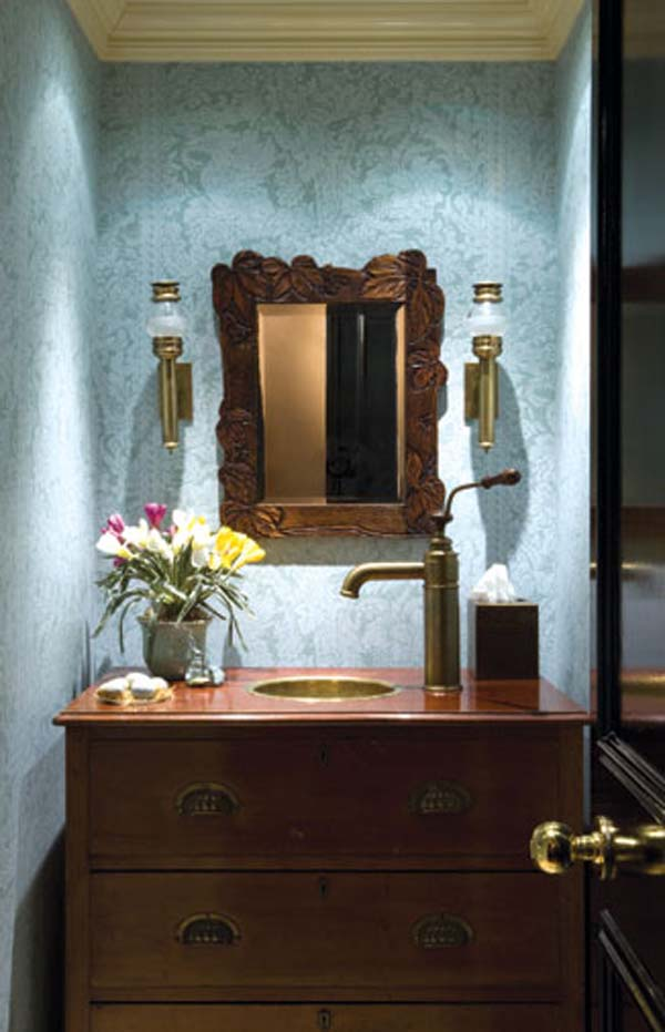 Powder Room Ideas For A Chic Design  Rustic Crafts  Chic