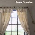 Diy Curtain Rods Rustic Crafts Chic Decor