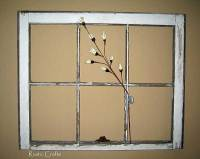 How To Decorate With Old Windows - Rustic Crafts & Chic Decor
