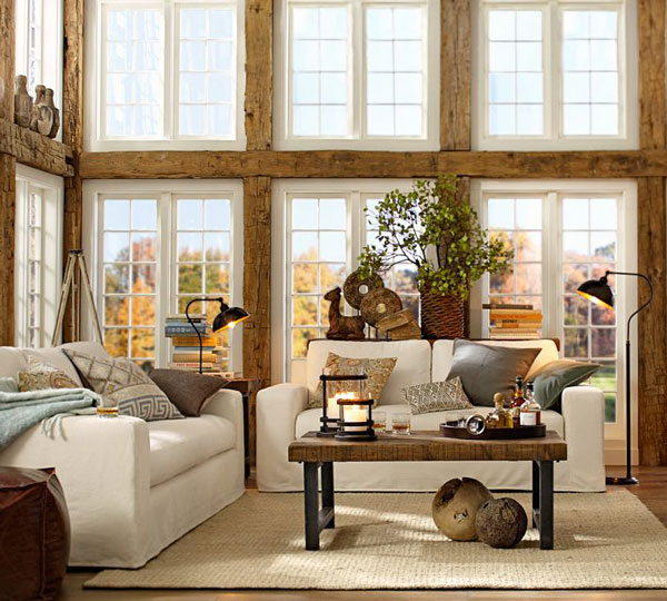 Fifteen Ideas For Decorating Rustic Chic  Rustic Crafts