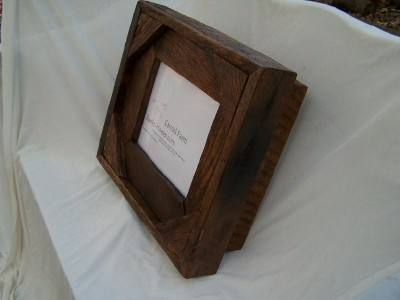 keepsake box with 8×10 frame