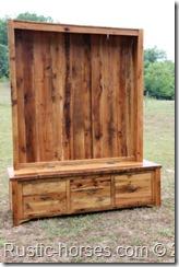 bench seat hutch