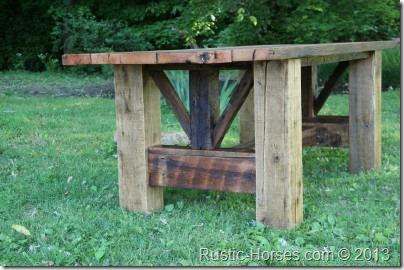 Big Barn Beam table