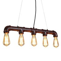 ONEPRE Industrial Steampunk Ceiling Pendant Light ...