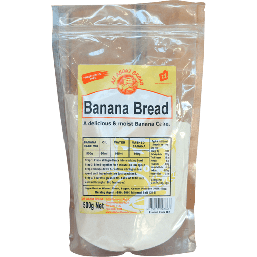 All About Bread Banana Bread 500g