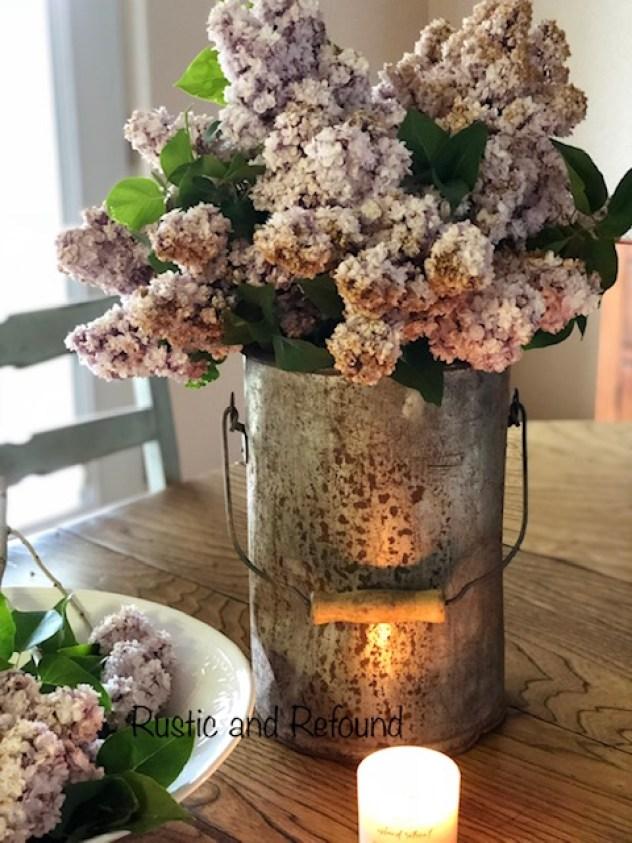 lilacs in bent bucket3 6-18-19