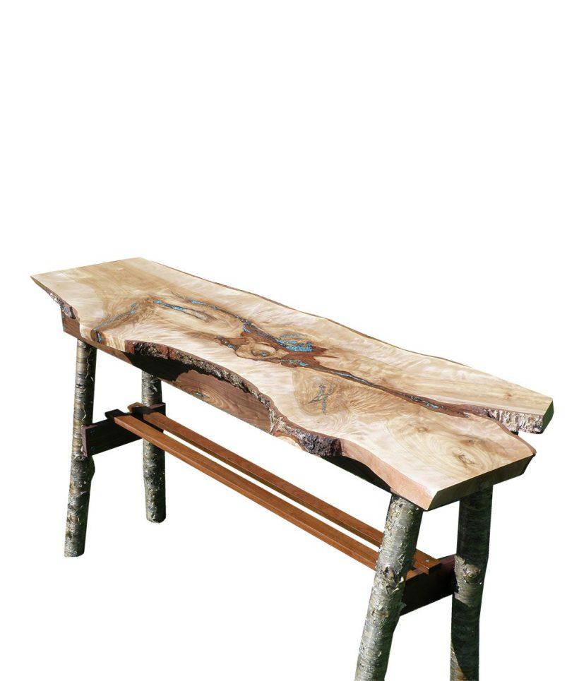 Rustic Turquoise Sofa Table Wwwenergywardennet