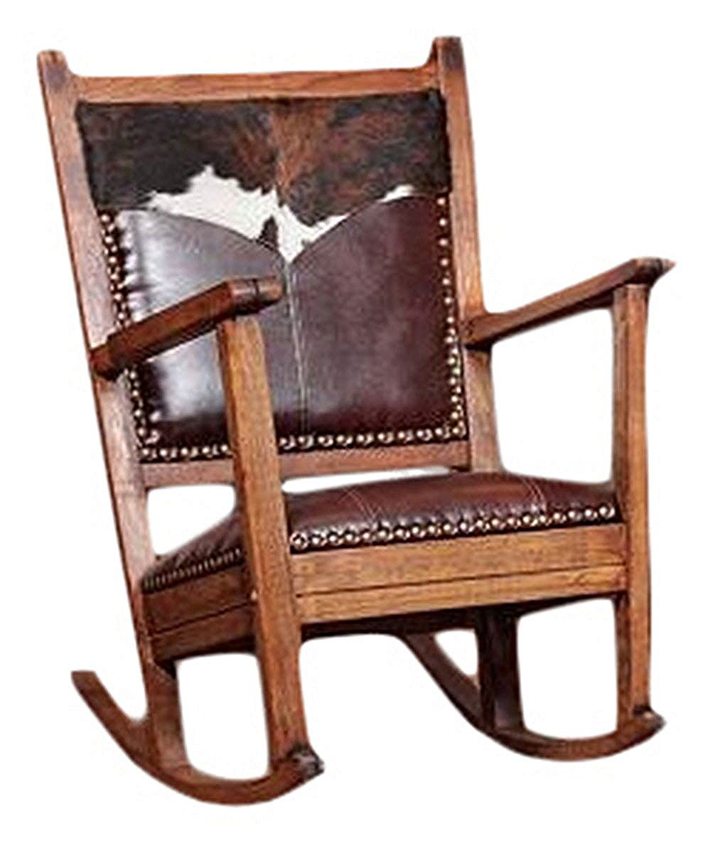 Leather Rocking Chair Down Home Rocker