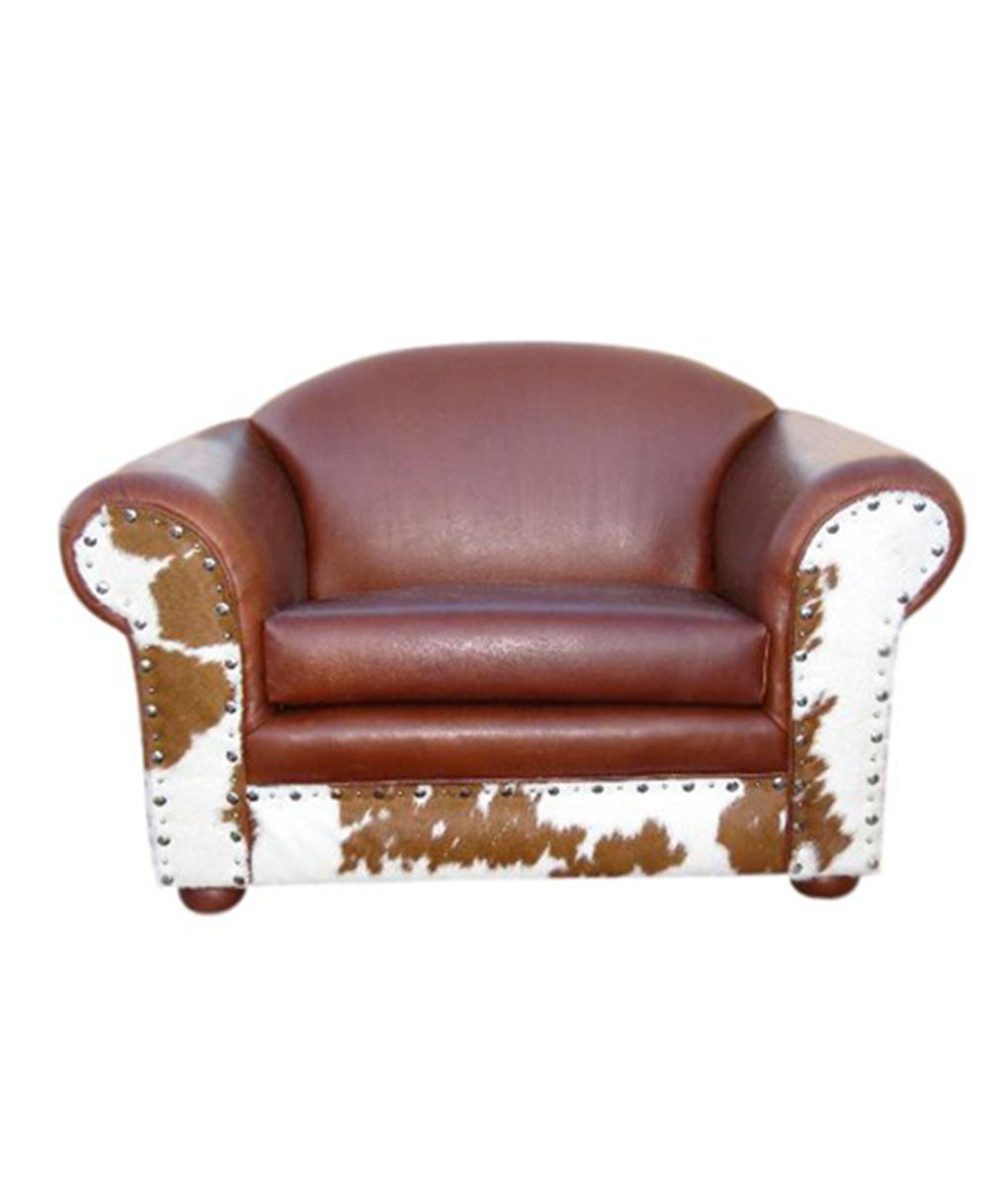 Rustic Leather Chairs Pinto Chair And A Half