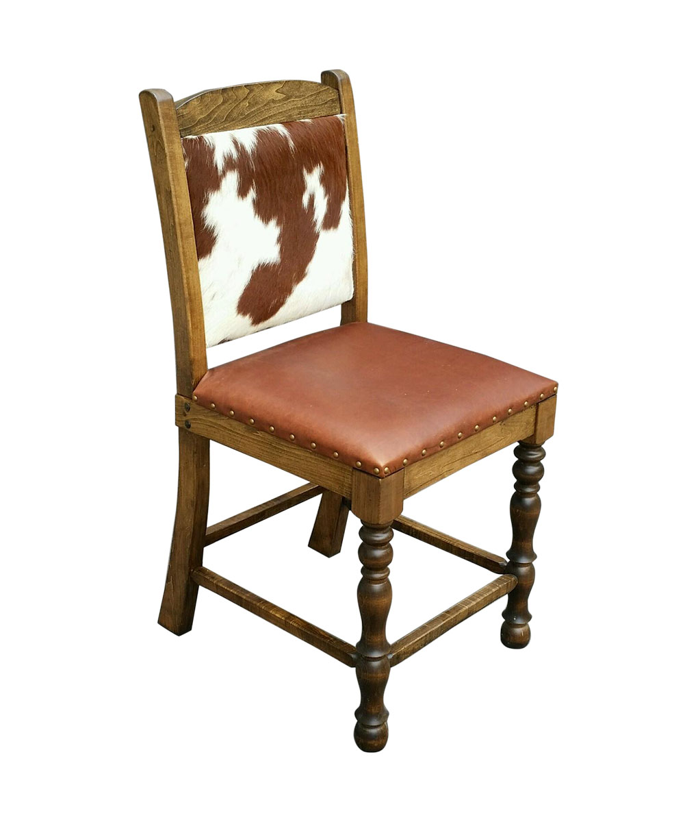 Cowhide Bar Stool  Cowhide Counter Stool  Cowhide Dining