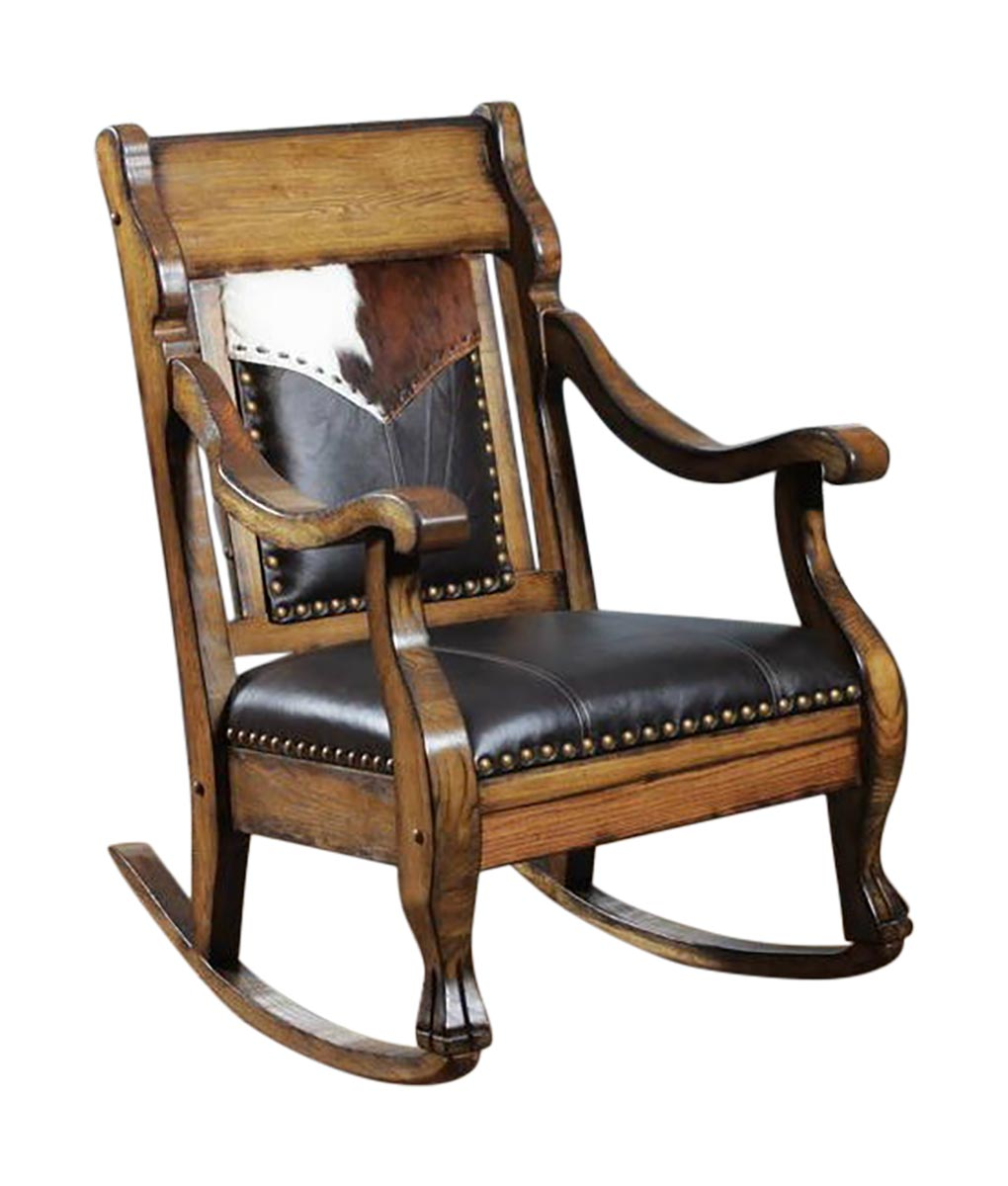 Western Chairs Cowboy Rocker