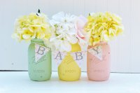 Mason Jar Baby Shower - Rustic Baby Chic