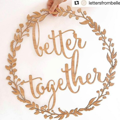 Better Together Wreath