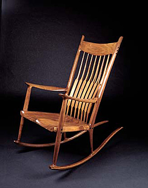 sam maloof rocking chair plans hal taylor arm protectors pattern style woodworking service online