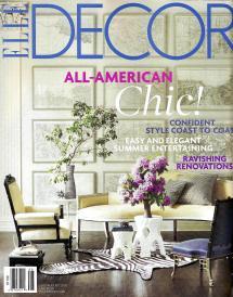 ELLE Decor Magazine Covers