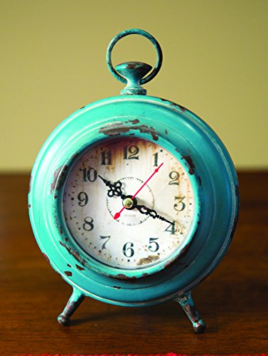 Pocket Watch Table Clock Aqua Clocks