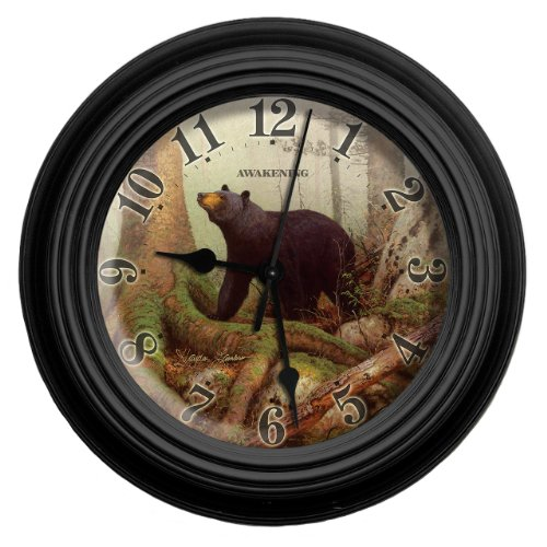 Reflective Art Awakening Wall Clock, 10-Inch