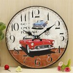Beautiful Design Car Large Retro Vintage Rustic Shabby Chic Home Office Cafe Bar