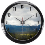 Rocky Mountain National Park Landscape Fish Tank Clocks