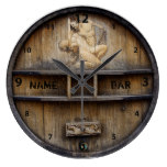 Bar Or Pub Owner Or Client Clock