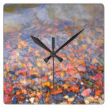 Rocky River Bed Square Wallclocks
