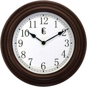 Geneva 11.5″ Plastic Wall Clock – Analog – Quartz – 4345G