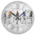 Weathered Egyptians Your Color Wash Large Clock