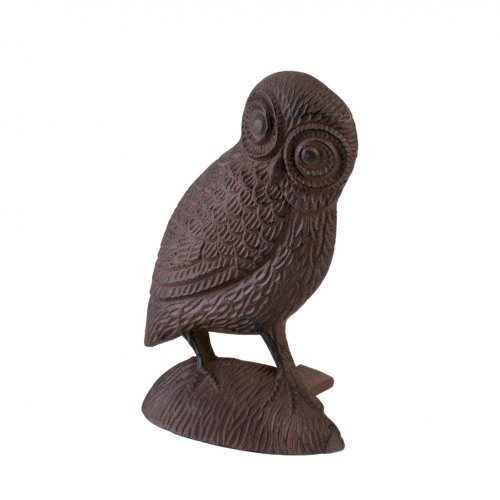 Koolekoo Owl Door Stopper – Cast Iron Door Stop