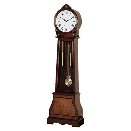 Wood Grandfather Floor Clock Wildon Home 71.75″ Longcase Clock
