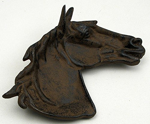 Americanoutfitter Cast Iron Horse Dish Set of 2 – Unique Gift For Birthday Christmas Wedding Anniversary Engagement Graduation Couples Men Women Mom Dad Grandpa Sister Wife Husband Friends