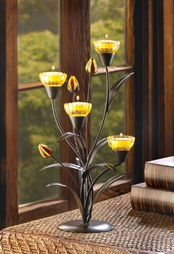 Tiger Lily Tealight Holder – 1 Unit