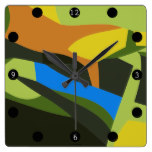 Landscape Square Wall Clock