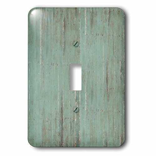 PS Vintage – Rustic Green Wood Look – Light Switch Covers – single toggle switch (lsp_183265_1)
