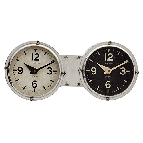 Dashboard Aluminum 10″ Wide Table or Wall Clock