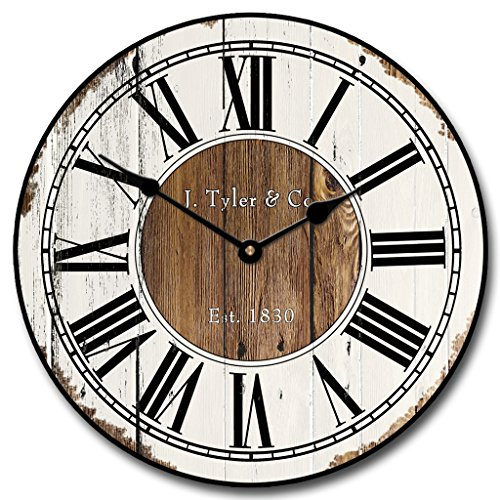 Old Paint Clock, 12″-48″, Whisper Quiet, non-ticking