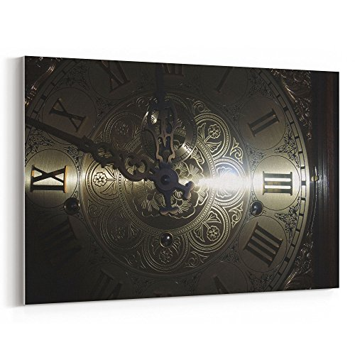 Westlake Art – Dial Clock – 5×7 Canvas Print Wall Art – Canvas Stretched Gallery Wrap Modern Picture Photography Artwork – Ready to Hang 5×7 Inch