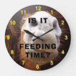 Feeding Time Horse Wall Clock