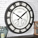 FirsTime 99647 Park Outdoor Wall Clock, Oil Rubbed Bronze