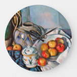 Paul Cezanne – Still Life With Apples Large Clock