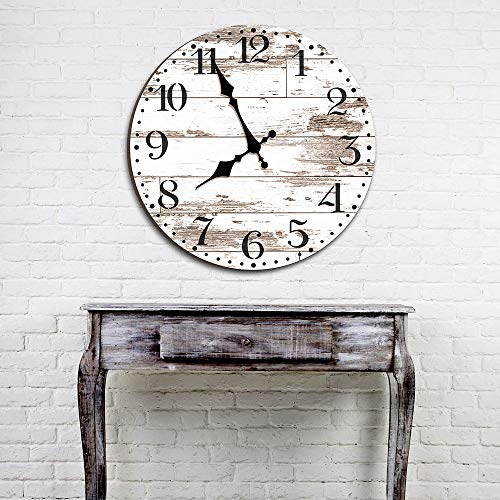 Old Farm Clock Wall Stencil – Reusable DIY Vintage Farmhouse Stencil (Medium)