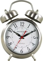 FirsTime 80028 Tabletop Clock Silver
