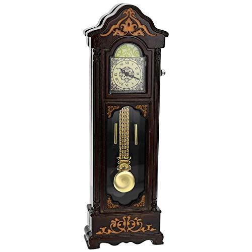 TM Vintage Pendulum Clock Miniature Ornamental Novelty Collectors Desk Clock TM30