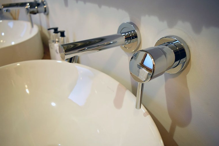 High-end modern faucet by Grohe