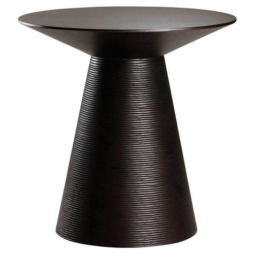 Textured side table by Kathy Kuo Home