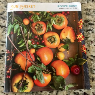 Sun Basket Recipe Book