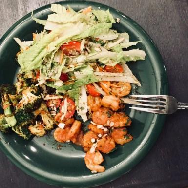 Green Chef Cajun Shrimp