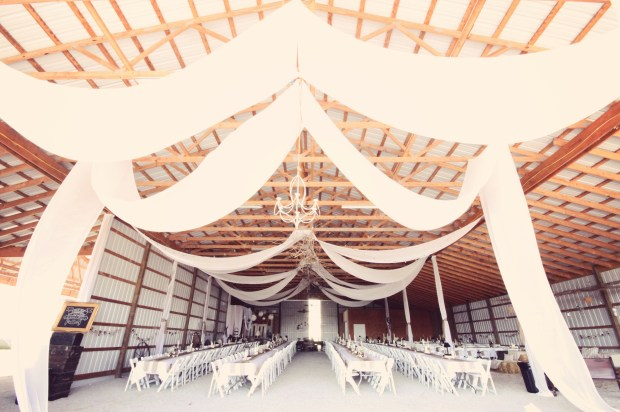 The barn view from the dance floor