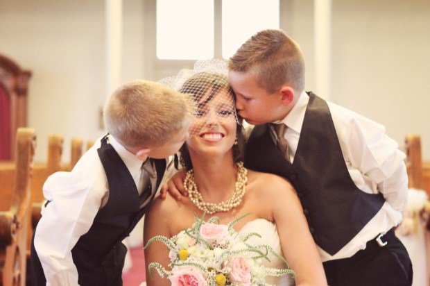 Sweetest ring bearers in the world!