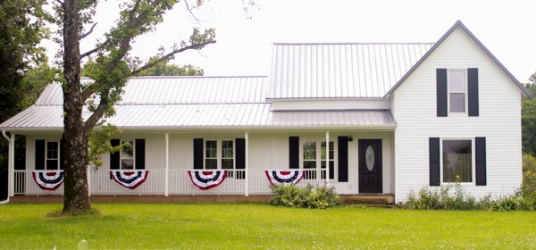 Farmhouse Exterior Before & After